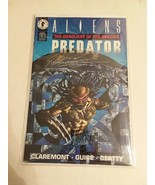 ALIEN VS PREDATOR: THE DEADLIEST OF SPECIES - SIGNED CLAREMONT + EARTH A... - $28.05