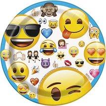 Emoji Dessert Plates, 8ct - $3.55