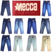 MECCA ASSORTED STYLE, OLD SCHOOL BAGGY, MEN'S LONG DENIM JEANS, - $42.00+