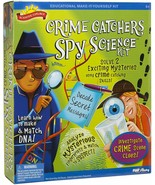 Scientific Explorer Crime Catchers Spy Scene Science Kit, Alex Toys - $11.29