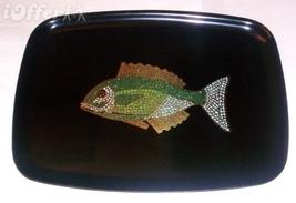 "EAMES ERA MID CENTURY MODERN-- COUROC MOSAIC FISH TRAY 12 5/8""  X 9 5/8""  - $104.95"