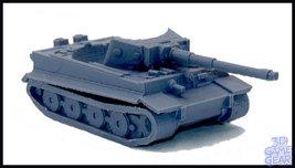 Custom 3D Printed Tiger Tank Token Cup  - $25.00