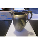 Vintage WSN Pewter Pitcher With Ice Lip - $9.79