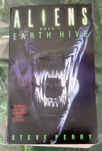 Steve Perry ALIENS Book 1: EARTH HIVE 1992 Science Fiction Paperback - $8.00