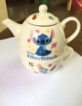 Disney Lilo Stitch Ceramic Teapot. Cooking Theme. Very Beatiful, RARE collection - $100.00