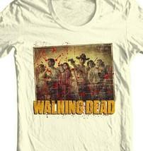 The Walking Dead T-shirt Season 1 TV show zombie horror 100% cotton graphic tee image 2