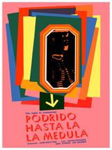 Podriso hasta la medula vintage POSTER.Graphic Design.Wall Art Decoratio... - $10.89+