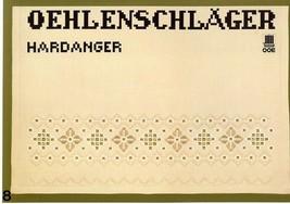 Oehlenschlager Hardanger #8 OOE Pattern Booklet RARE - $4.47