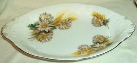 Royal Albert Cream & Sugar Underplate Tray Daisy Wheat Pattern - $19.59