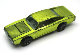 Vintage 1968 Hot Wheels Redline Custom Dodge Charger Antifreeze Color Ma... - $209.53