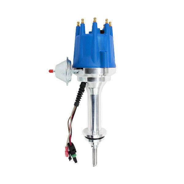 Pro Series R2R Distributor for Mopar Dodge Chrysler BB, V8 Engine Blue Cap