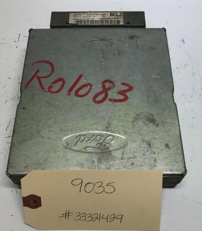 Pcm Ecm Engine Computer 1998 Ford Ranger 2 5