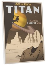 "Pingo World 0208QBIUWTY ""Steve Thomas Rock Climbing on Titan"" Gallery Wr... - $53.41"