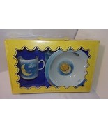 Day Night Sun Moon 3 pc Child Meal Set Philippe Deshoulieres NEW Jour Et... - $81.13