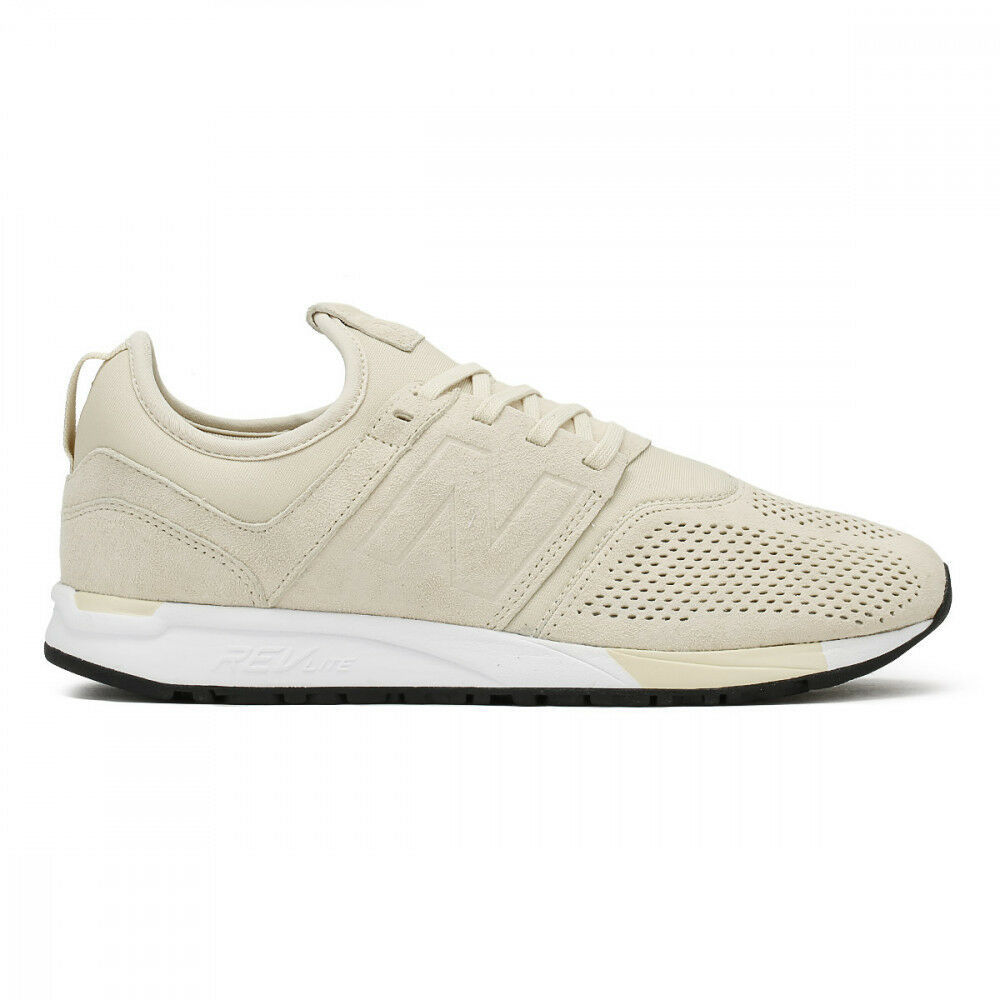 New Balance 247 Sand Beige Lifestyle Retro Sneakers MRL247SA Mens Size 12