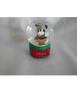 Disney Mickey Mouse Snow Globe JC Penney Exclusive 2 1/2 Inches Tall 2005 - $4.99