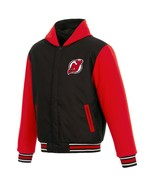 NHL New Jersey Devils JH Design Two Tone Reversible Fleece Hooded Jacket - $104.99