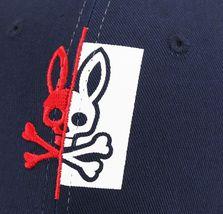 Psycho Bunny Men's Cotton Embroidered Logo Dovedale Baseball Cap Strapback Hat image 9