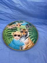 Jennifers Jungle By Margaret Keane Collectible Franklin Mint Decorative ... - $17.99