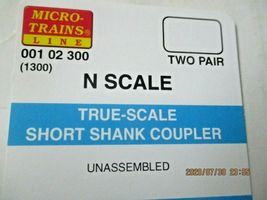 Micro-Trains Stock #00102300 True -Scale Short Shank Coupler  (1300) (N) image 4