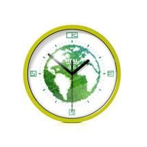 8-inch Idea From Environmental Protection Decorative Wall Clock,GREEN - $34.14