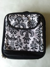 Insulated Sandwich Bag Black and White with Handle - $6.92