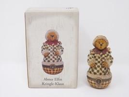 Boyd's Bears by Enesco Collectible Abner Elfin Kringle-Klaus Trinket Box... - $12.34