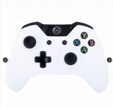 Matte White Black with Official Microsoft Xbox One Controller - $107.99