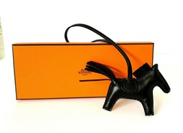 Hermes So Black Rodeo PM Bag Charm Horse New image 1