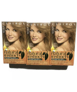 Clairol Natural Instincts Medium Cool Blonde  8A Former 6 Lot Of 3 - $35.99