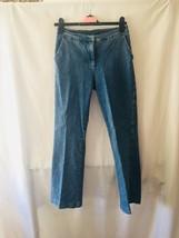 Denim & Co. Regular Modern Waist Stretch Boot Cut Jeans 6 Petite Womens ... - $12.02