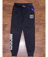 new FCB BARCELONA Youth MESSI Black Track Pants Joggers sz L 10-12years ... - $31.58