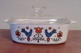 Corning Ware Friendship Rooster Country Festival Casserole Dish & Lid On... - $26.73