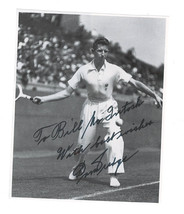 Don Budge signed photo / Tennis autographed - $14.54