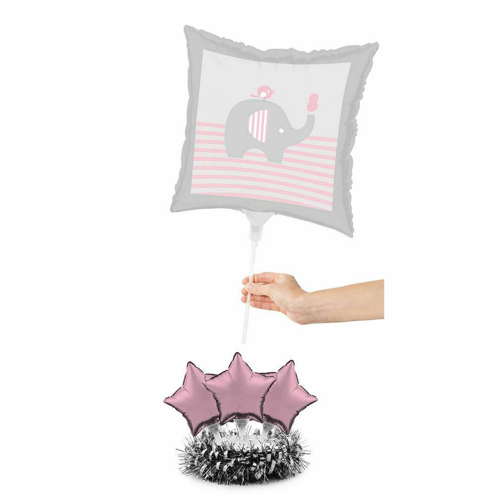 Little Peanut Girl Centerpiece Balloon Kit Pink Elephant Baby Shower