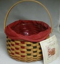 Longaberger 2003 Christmas Caroling Basket Combo - $39.15
