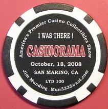 Casino Chip. Casinorama, San Marino, CA. Collectibles Show 2008, LTD 100... - $6.99
