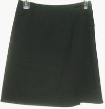 Women's Black Pocket Wrap Skirt Size 2 Talbots - $8.00
