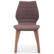 Zuo Aalborg Dining Chair in Tobacco (Set of 2) 842896103669  - $248.99
