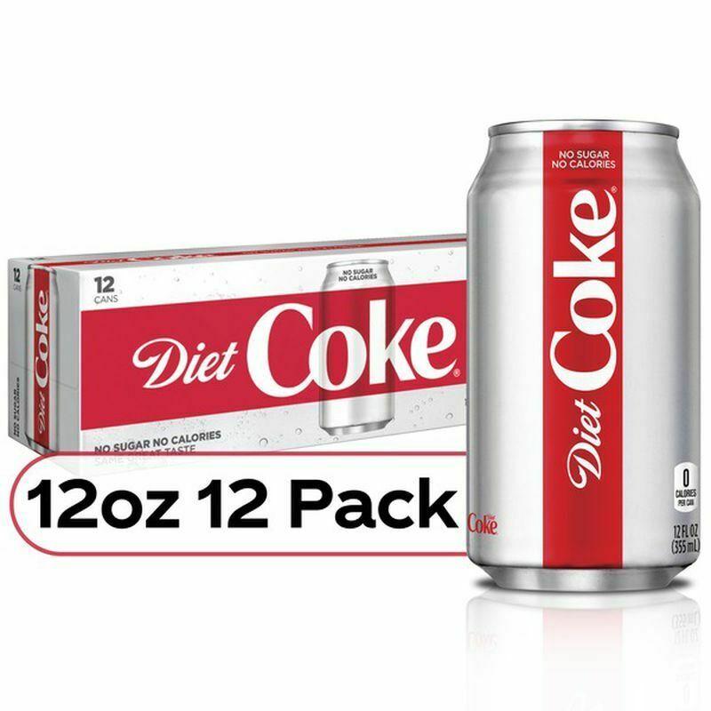Coca Cola Diet Coke (12 pack) - $19.75
