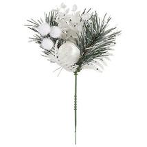 Darice Christmas Pick: White, 4 x 7 inches  w - $5.99