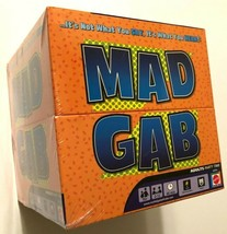 2005 Mattel Mad Gab Adults Party Card Game New - $24.74