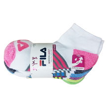 FILA Women's 6 Pack Low Cut Classic Sport Athletic Gym Moisture Control Socks image 10