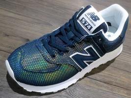 New Balance 574 Luminescent Mermaid Green/White WL574UBC Womens Sneakers  - $108.00