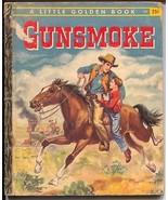 Gunsmoke #320 1958-Little Golden Book-James Arness TV show-VG- - $37.83