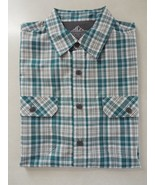 Croft & Barrow Men's Short Sleeve Quick Dry Shirt M New - $19.79