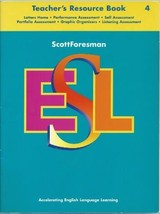 Scottforesman Esl 4: Teacher's Resource Book [Paperback] et al; Cummins,... - $12.94