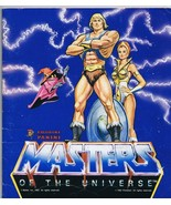 ORIGINAL Vintage 1983 Panini Masters of the Universe Sticker Book 100% C... - $140.10