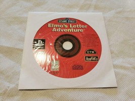 Sesame Street Elmo's Letter Adventure Game PS1 Playstation 1 - GAME DISC... - $6.83