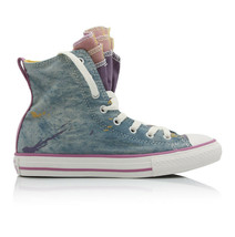 Converse Junior All Stars Party 651703C Sneakers MoodyPurple Blue Size U... - $39.86